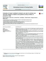 Evaluation of nurses' workload in intensive care unit of a tertiary care university hospital in relation to the patients' severity of illness: A prospective study